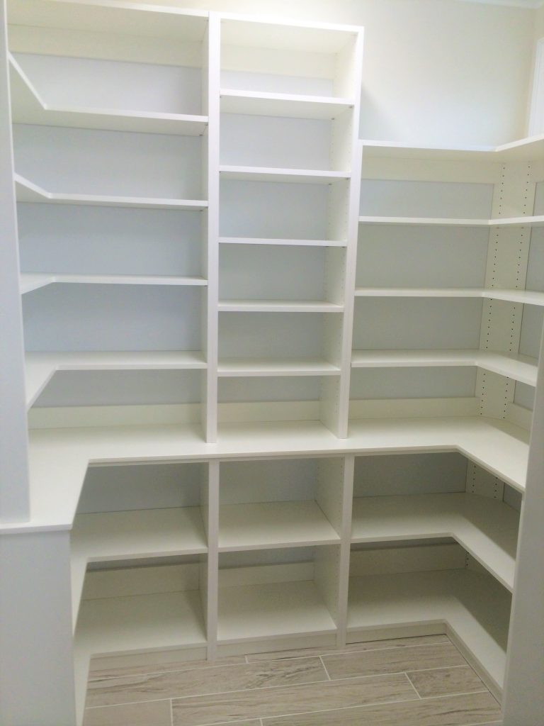 Custom designed and built Laundry Rooms and Pantries by Closets and Things.